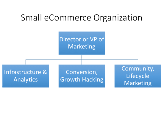 eCommerce marketing organization