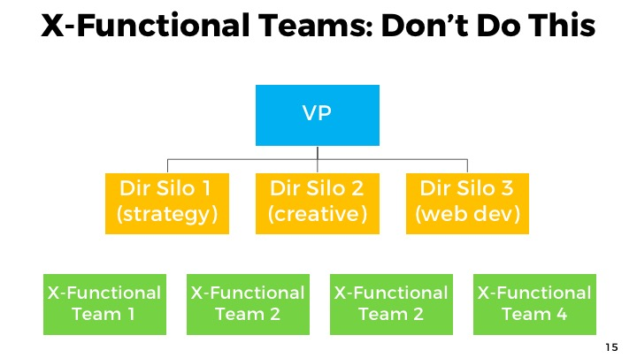 Cross functional teams: don't
