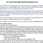 The Twelve-Week Agile Marketing Adoption Plan